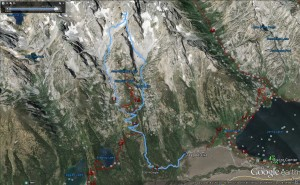 Google Earth view image, (click to enlarge).