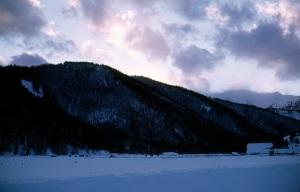 Winter in the Hoback