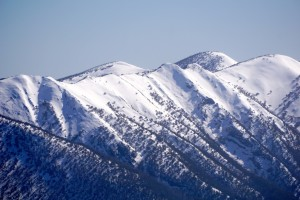 The area that we skied in.  The