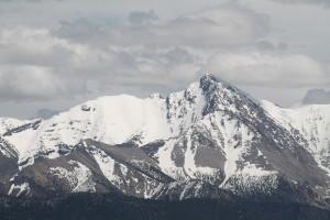 North Face of Borah