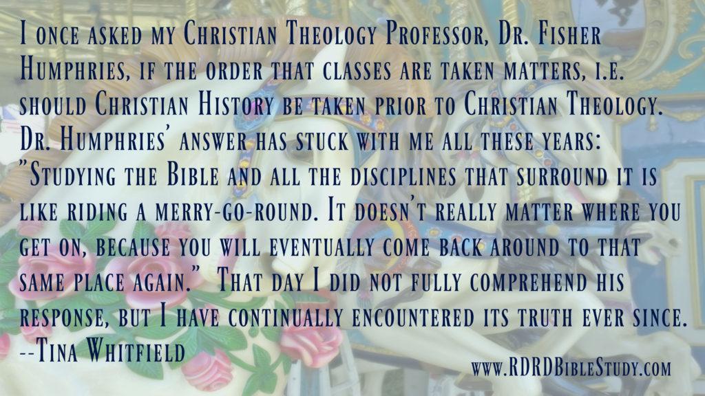 RDRD Bible Study Merry Go Round