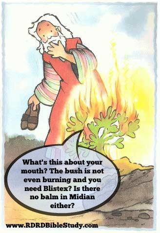 RDRD Bible Study moses and burning bush