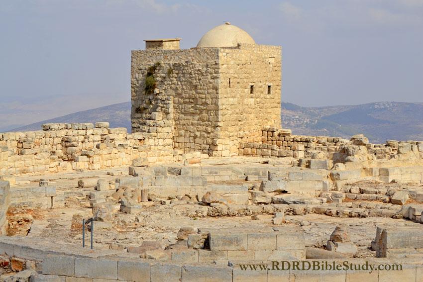 RDRD Bible Study Mount Gerizim Ruins c2011