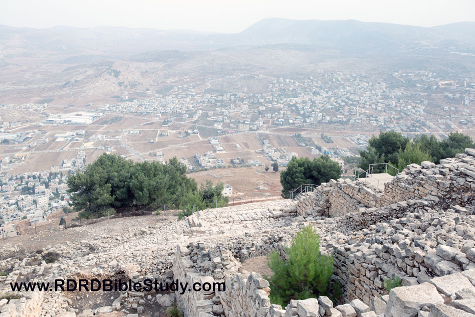 RDRD Bible Study Mount Gerizim View of Valley