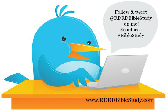 RDRD Bible Study Follow on Twitter