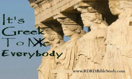 It's Greek To Everybody