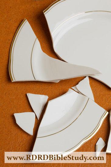 RDRD Bible Study Its Greek To Everybody Broken Plates