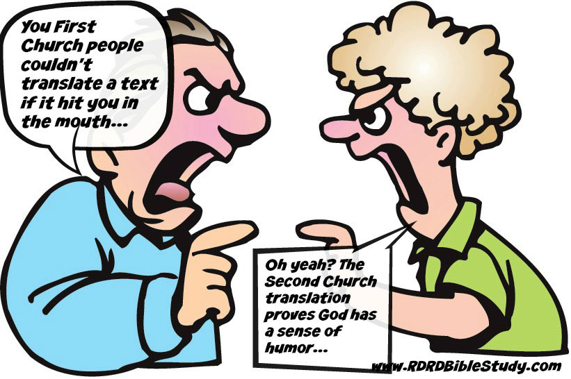 RDRD Bible Study People Arguing Over Textual Criticism