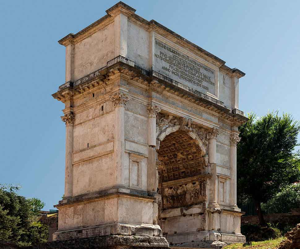 RDRD Bible Study DTM AD 70 Arch of Titus Side-
