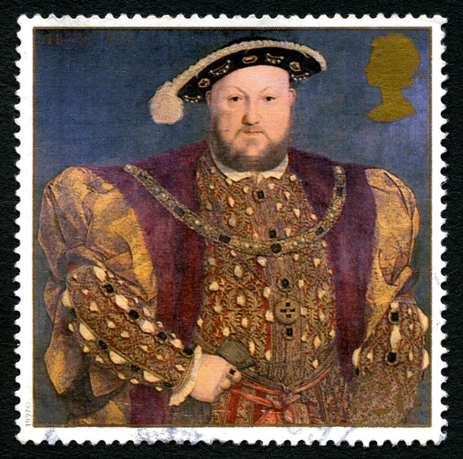 RDRD Bible Study Henry VIII 1997 Postage Stamp