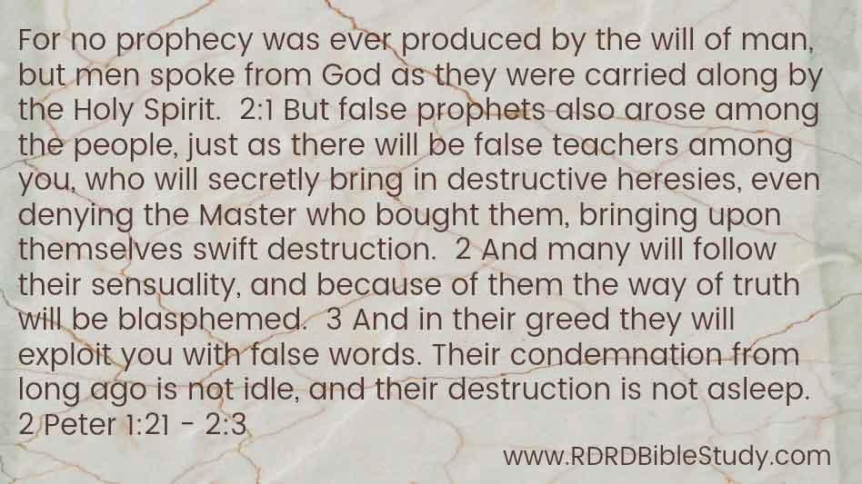 RDRD Bible Study 1 Peter 1 21 2 1-3