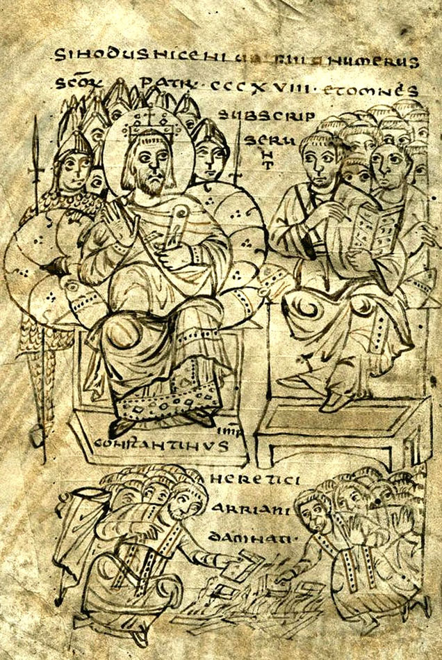 RDRD Bible Study Constantine Council Of Nicaea Burning Arian Books