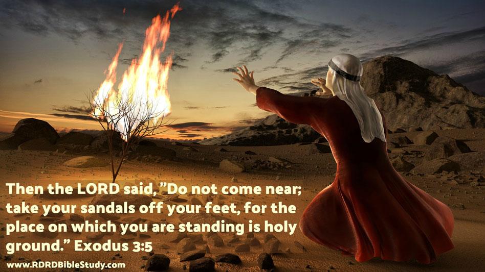 RDRD Bible Study Exodus 3 5