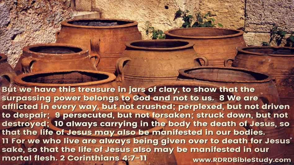 RDRD Bible Study 2 Corinthians 4 7-11