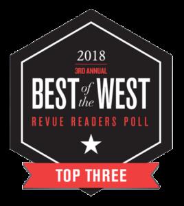 2018 Best of the West Top Three Readers Poll Winner