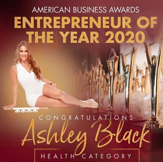 Ashley black Entrepreneur of the year