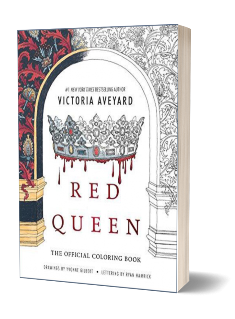 Red Queen Official Coloring Book by Victoria Aveyard