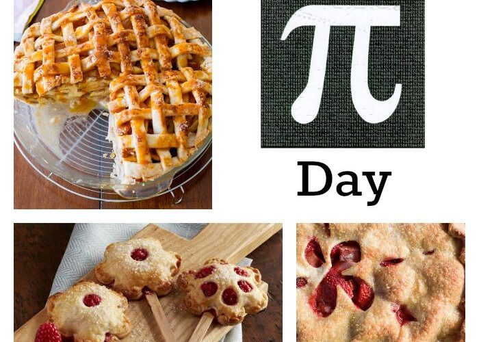 3 Pies for Pi Day