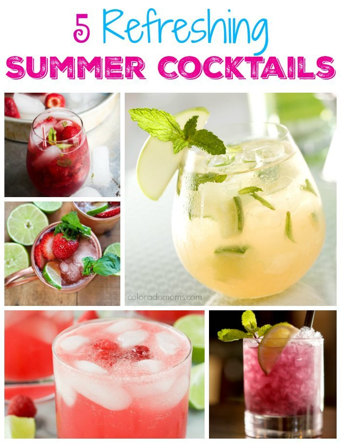 5 Refreshing Summer Cocktails