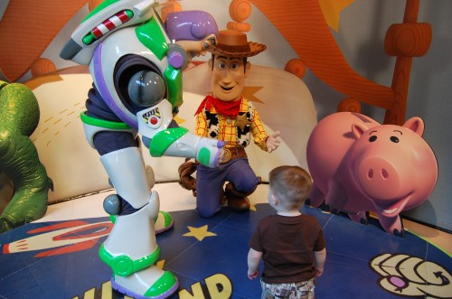 Disney Social Media Moms Conference Buzz and Woody