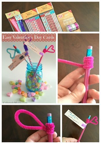 Easy Valentine's Day Cards Using Target Dollar Spot Items