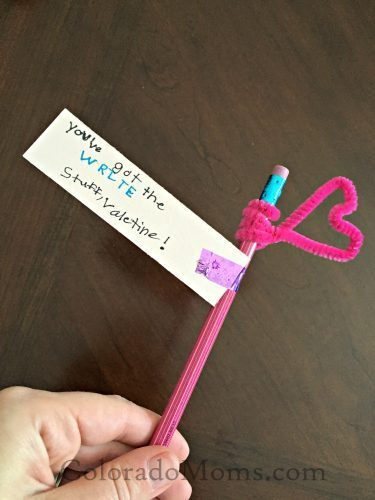 Valentine's Day Cards Pencil Topper