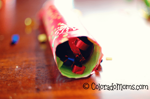how to make your own party poppers
