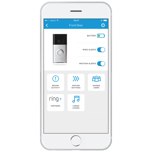 ring video doorbell mobile ios