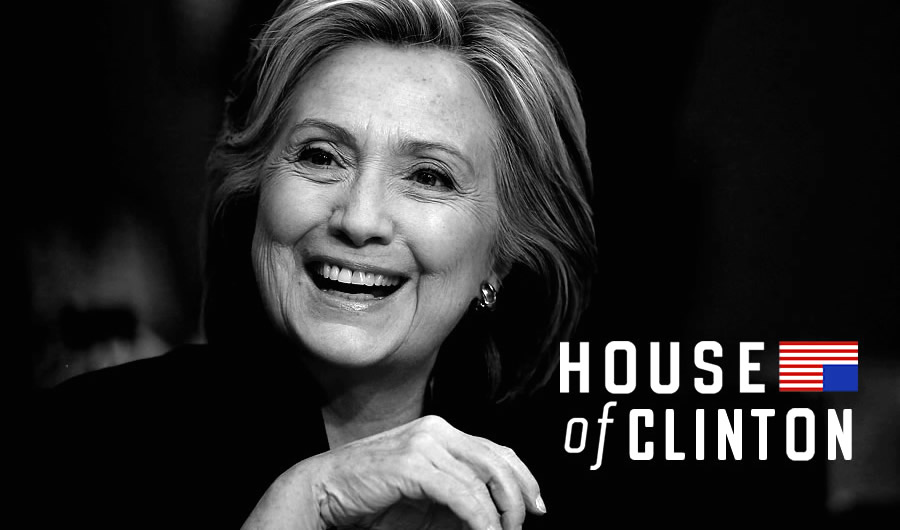 House of Cards Hillary Clinton