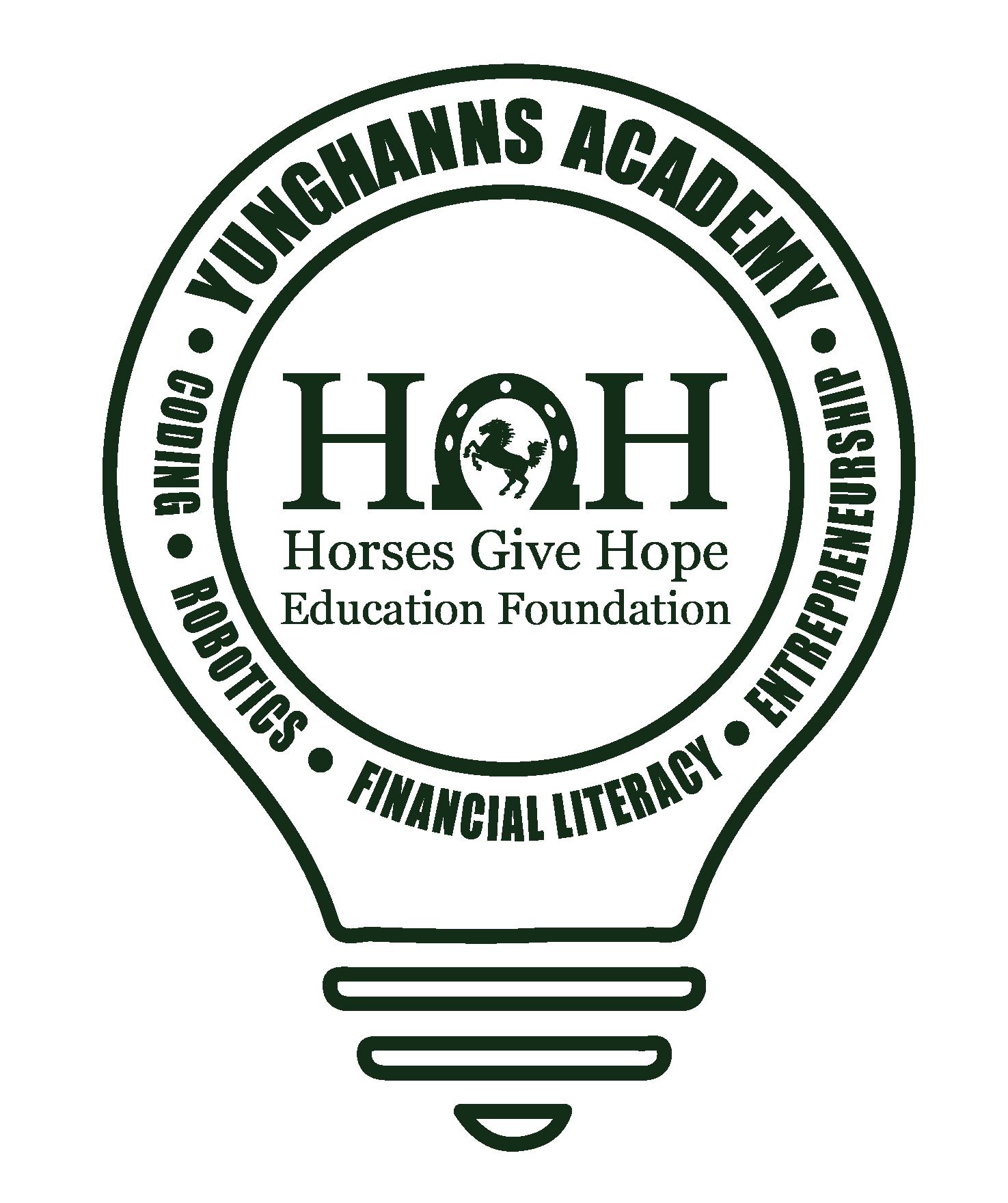 New Logo horsesgivehope