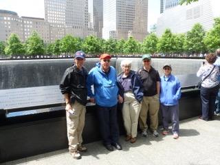 World Trade Center Memorial Visit Don Tedesco