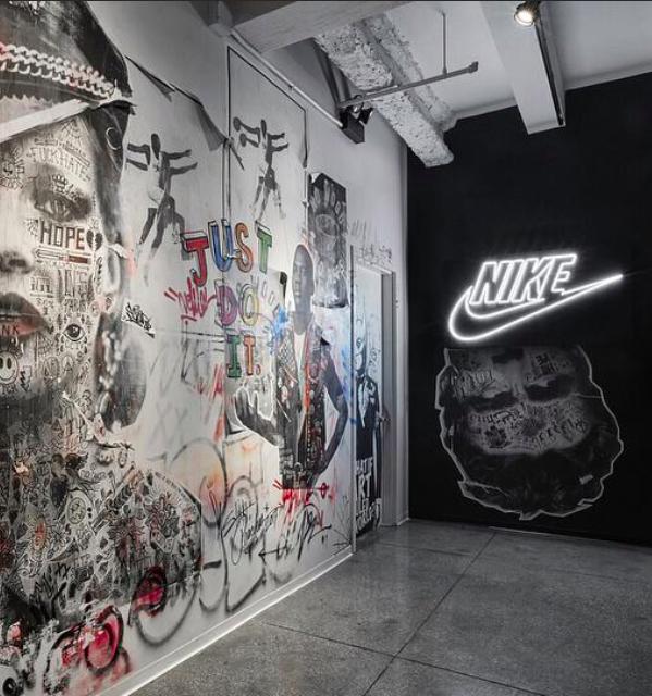 Nike Headquarters Stikki Peaches