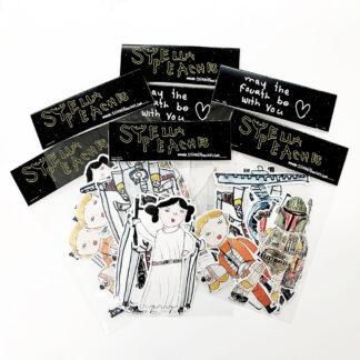 stella star wars sticker pack