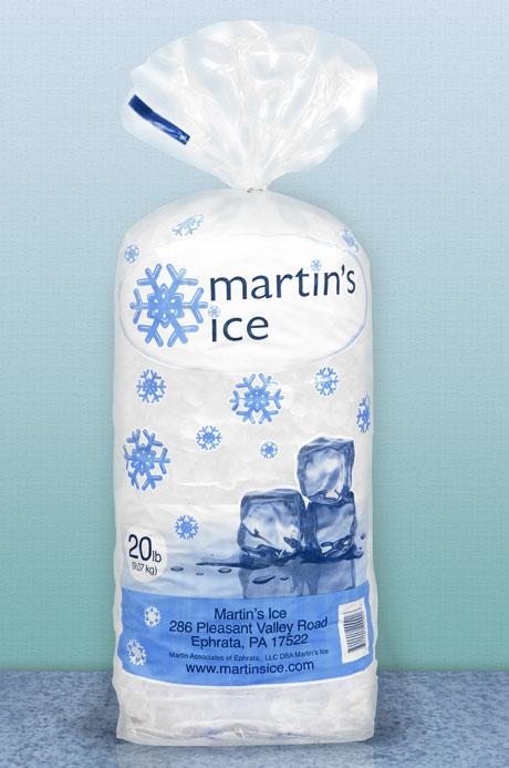 Martin's Ice 20lb Bag
