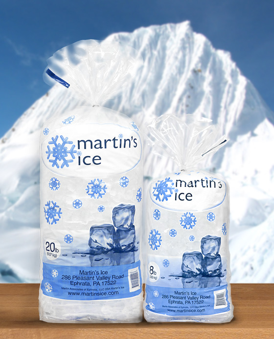 Martin's Ice 8lb Web blurred