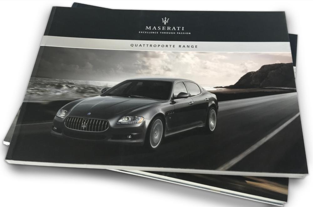 Maserati catalogues