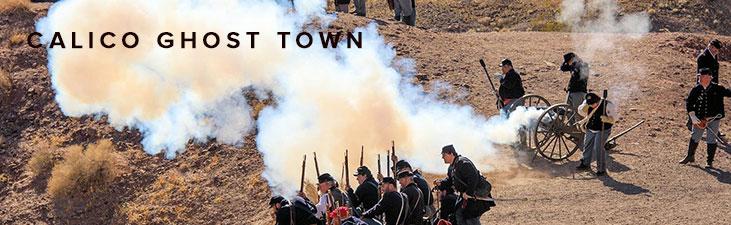 Calico Ghost Town – Civil War