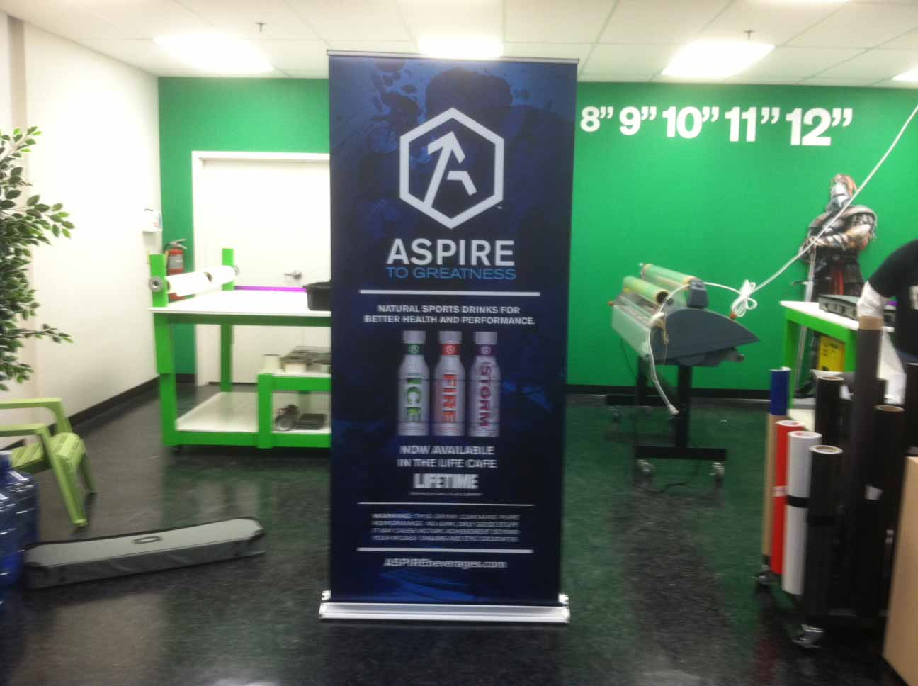 trade show banner aspire