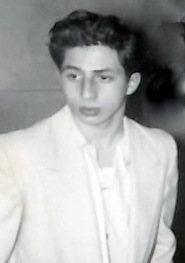 Joseph Rinaldi on his way to the Polo Grounds on September 24, 1953, to watch Rocky Marciano defend his Heavyweight title against Roland LaStarza