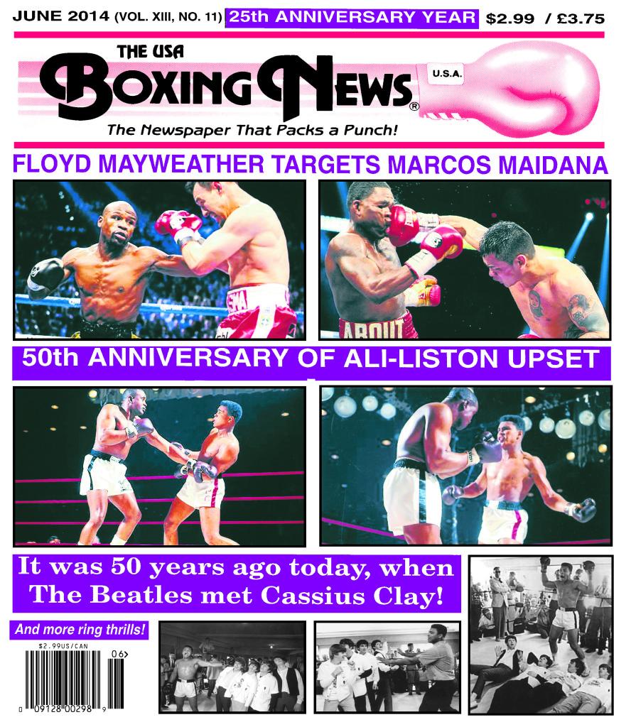 BoxingNewsCover May 2014