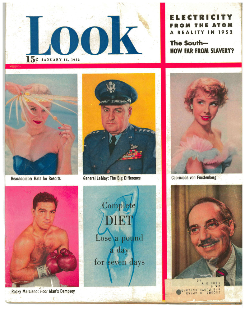 Rocky Marciano on the Cover of Look Magazine in 1952