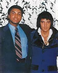 Muhammad Ali and Elvis Presley