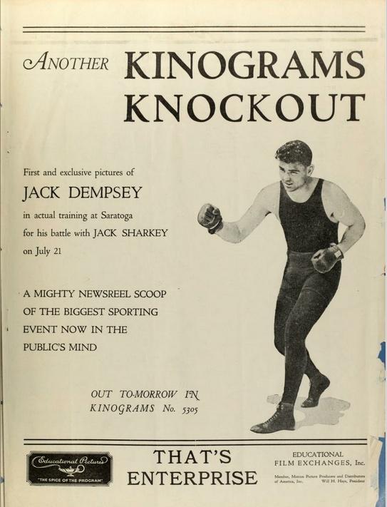 Jack Dempsey Ad