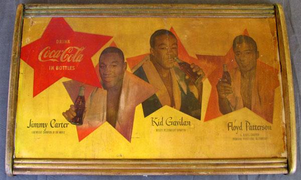 Floyd Patterson, Kid Gavilan and Carter Coke Ad