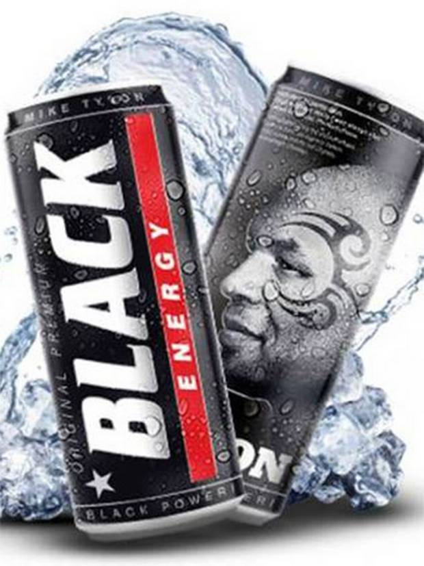 Mike Tyson Black Energy Drink Ad