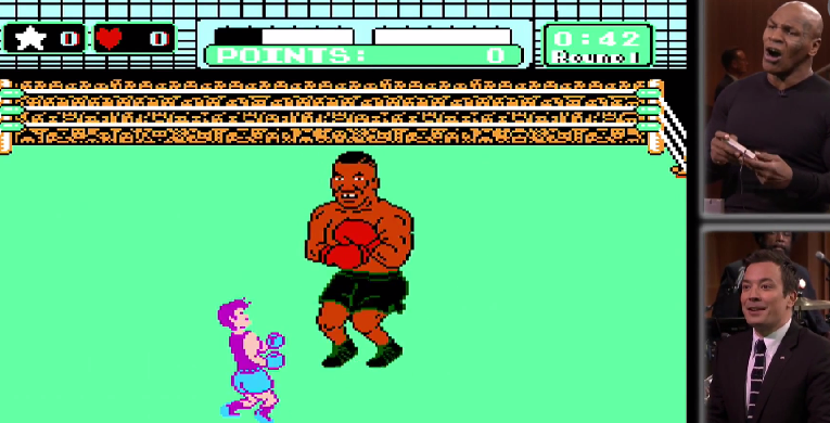 Mike Tyson Punch Out Game