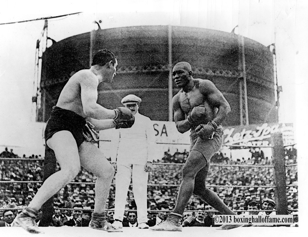 Fight Action #12Fight Action Johns-Burns 1908