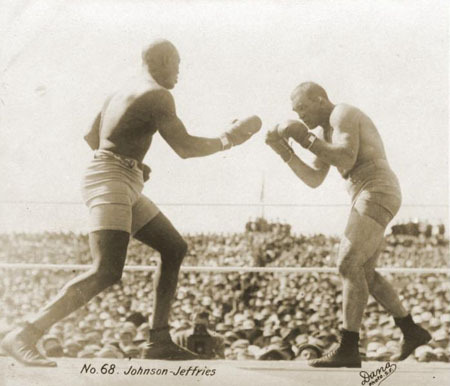 Fight Action #14Fight Action Johnson-Jeffries 1910