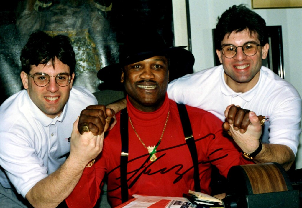 The Boxing Twins with Joe Frazier