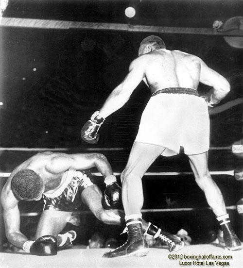 Jersey Joe Walcott vs. Ezzard Charles III in1951